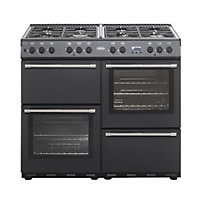 Belling Country Classic 100DF Dual Fuel Range Cooker - Anthracite.