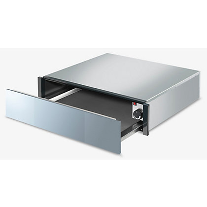 Image for Smeg CTP1015S Linea 15cm Handleless Warming Drawer - Silver from StoreName