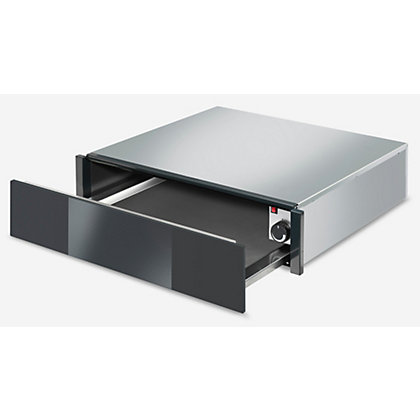 Image for Smeg CTP1015N Linea 15cm Handleless Warming Drawer - Black from StoreName