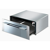 Smeg CT1029 29cm Linea Built-in Warming Drawer - Stainless Steel