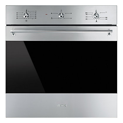 Image for Smeg SF6341GVX 60cm Classic Single Gas Oven - Stainless Steel from StoreName