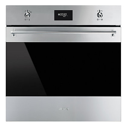Image for Smeg SFP6378X Built-in Single Pyrolytic Oven - 60cm - Stainless Steel from StoreName