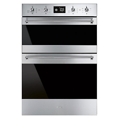 Image for Smeg DOSF6390X 60cm Classic Built-in Double Oven - Stainless Steel from StoreName