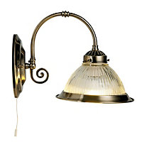 Oklahoma Wall Light - Antique Brass
