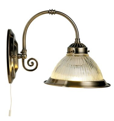 Image of Oklahoma Wall Light - Antique Brass