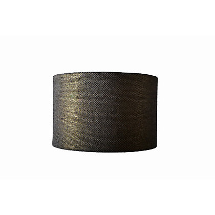 Image for Woven Gold Drum Shade from StoreName