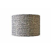 Decorative Textured Drum Shade