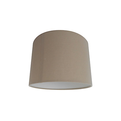 Image for Linen Drum -Taupe - 25cm from StoreName
