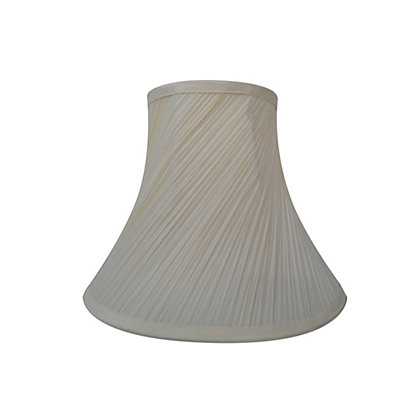Image for Swirl Pleat Shade - Cream - 30cm from StoreName