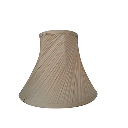 Image for Swirl Pleat Shade - Champagne - 30cm from StoreName