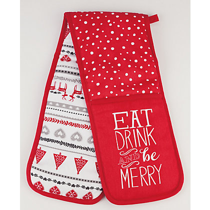 Image for Homespun Double Oven Mitt from StoreName