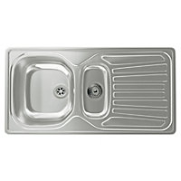 Carron Phoenix Precision Plus 150 Kitchen Sink - 1.5 Bowl