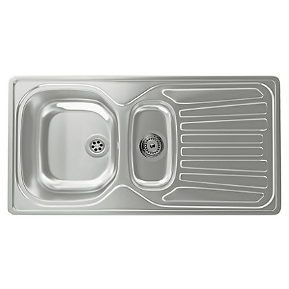 Image for Carron Phoenix Precision Plus 150 Kitchen Sink - 1.5 Bowl from StoreName