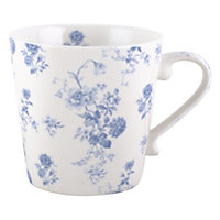 National Trust Cream Floral Mug