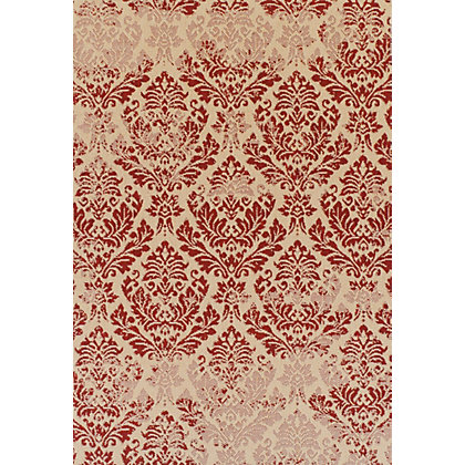 Image for Neon Damask Beige & Red Rug - 120 x 170cm from StoreName