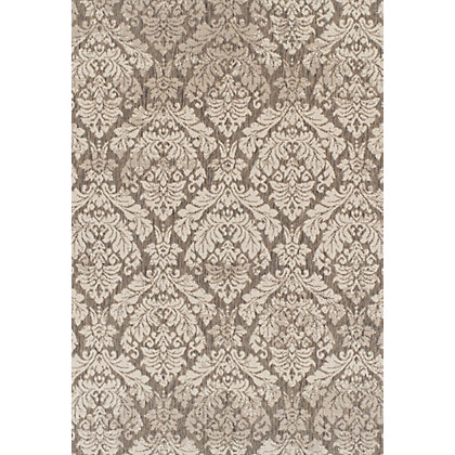 Image for Neon Damask Grey & Cream Rug - 120 x 170cm from StoreName