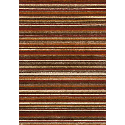 Image for Plaza Stripes Multicoloured Rug - 120 x 170cm from StoreName