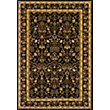 Heritage Traditional Rug Black - 120 x 170cm