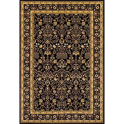 Image for Heritage Traditional Rug Black - 160 x 230cm from StoreName