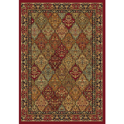 Image for Monarch Persian Rug Burgundy - 120 x 170cm from StoreName