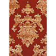 Glenwod Damask Rug Red 120 x 170cm