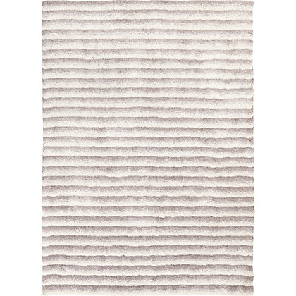 Image for Fancy Sculptured Rib Rug Beige 120 x 170cm from StoreName