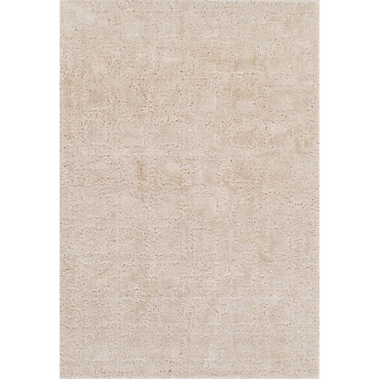 Image for Liss Squares Cream Rug - 120 x 170cm from StoreName