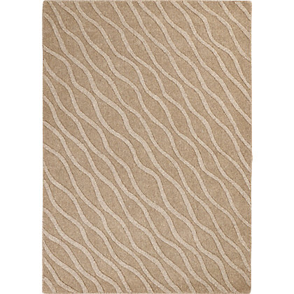 Image for Dewbury Diagonal Waves Rug Natural 120 x 170cm from StoreName