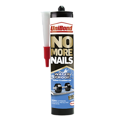 Image for UniBond No More Nails Waterproof Cartridge - 450g from StoreName