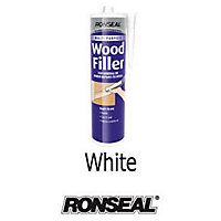 Ronseal Multipurpose Wood Filler Cartridge - White - 310ml