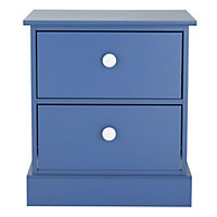 Stowe Blue Bedside Chest