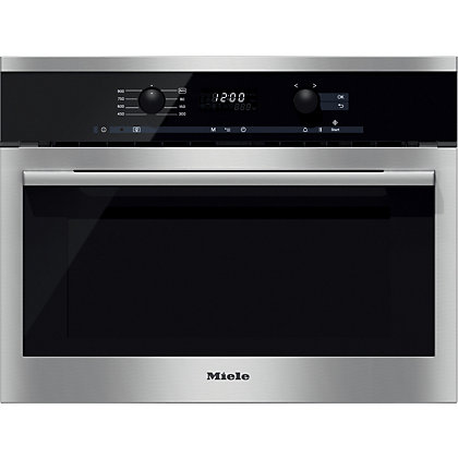 Image for Miele M6160 Top Control Microwave - Stainless Steel from StoreName