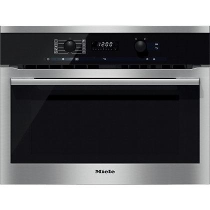 Image for Miele H6100BM Microwave Combination Oven - Stainless Steel from StoreName