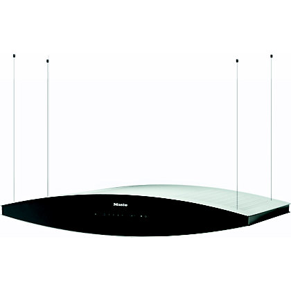 Image for Miele DA7006D Island Cooker Hood - Black from StoreName
