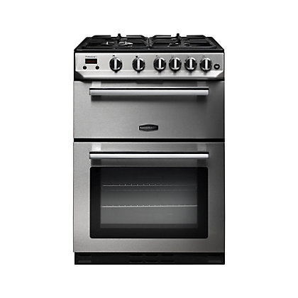 Image for Rangemaster Professional NG Cooker - 60cm - Stainless Steel and Chrome from StoreName