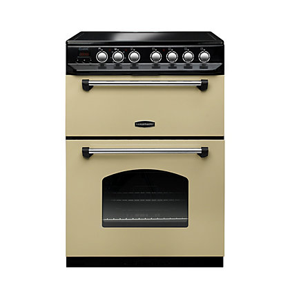 Image for Rangemaster Classic Ceramic Cooker 60cm- Cream and Chrome from StoreName