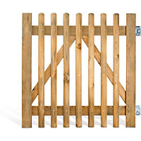 Rothley Plya Half Rounded Stake Gate - 1.0m