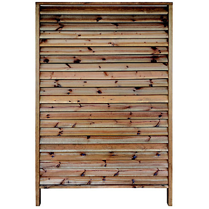 Image for Rothley Diskret Louvred 1.8m Fence Panels/Screens - Pack of 5 from StoreName
