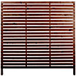 Rothley Skreen Slatted 1.8m Fence Panels/Screens - Pack of 7