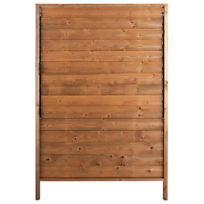 Image for Rothley Sun 1.8m Fence Panels/Screens with Adjustable Slat Louvres - Pack of 5 from StoreName