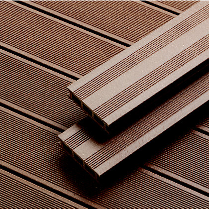Image for Rothley Terra Brown Composite Decking - Pack of 10 from StoreName
