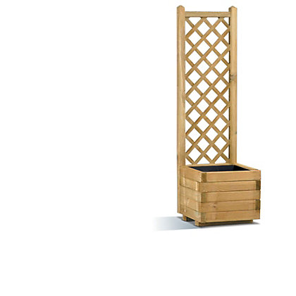 Image for Rothley Lierre Planter and Trellis - 40cm from StoreName