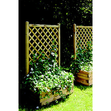 Image for Rothley Lierre Planter and Trellis - 80cm from StoreName