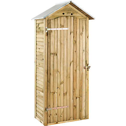Image for Rothley Mira Large Sentry Box Style Shed - 3ft x 2ft from StoreName