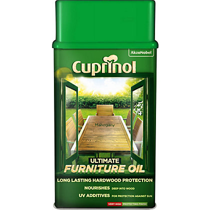 Image for Cuprinol Ultimate Hardwood Furniture Oil - Mahogany - 1L from StoreName