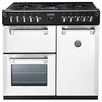Image for Stoves Richmond 900DFT Dual Fuel Range Cooker - 90cm - Icy Brook from StoreName