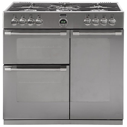 Image for Stoves 444443484 Gas Range Cooker - 90cm - Stainless Steel from StoreName