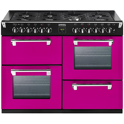 Image for Stoves 444441332 Floral Burst Gas Range Cooker - 110cm - Pink from StoreName