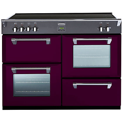 Image for Stoves 444441858 Wild Berry 1100Ei Induction Range Cooker - Purple from StoreName