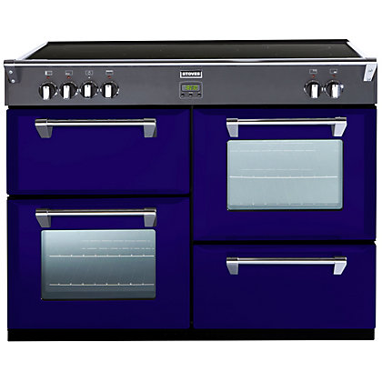 Image for Stoves 444441863 Midnight Gaze 1100Ei Induction Range Cooker - Dark Blue from StoreName
